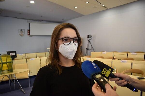Novozvolená riaditeľka PKO v Prešove Barbora Rusiňáková.