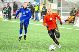 Tomáš Kubík (v oranžovom) prišiel do Ružomberka ako 10-ročný chlapec.