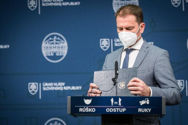 Igor Matovič končí vo funkcii premiéra.