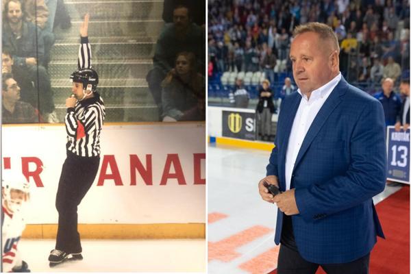 Primátor Danko bol kedysi známy a úspešný hokejový rozhodca.
