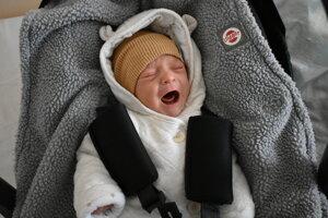 Artur Hanzel (3750 g, 52 cm) sa narodil 12. marca Alexandre a Patrikovi z Podkylavy.