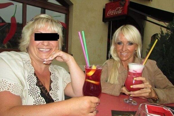 Bývalé kamarátky Milada H. (vľavo) a Jana Kordiaková spolu často trávili voľný čas.
