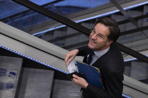 Dlhoročný holandský premiér Mark Rutte.
