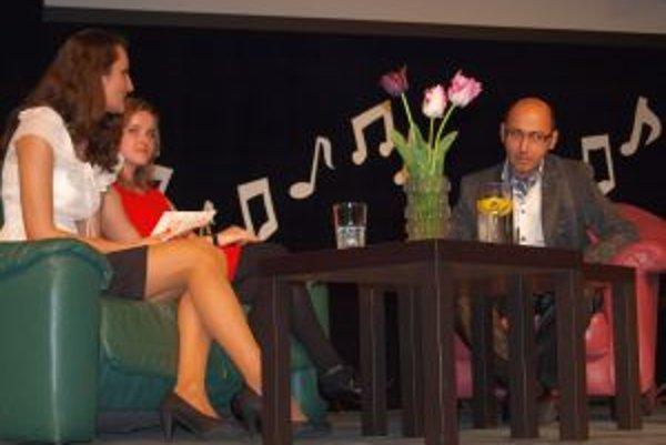 Klavírny virtuóz bol hosťom programu Kultúrne potulky, ktoré v SDKS zorganizovali študenti kulturológie na UKF.