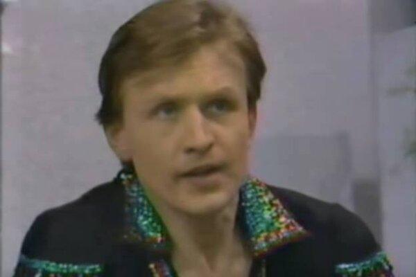 Reprezentant Československa v tancoch na ľade Karol Foltán