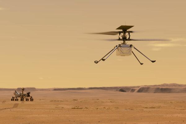 Jediná úloha vrtuľníka sú skúšobné lety.