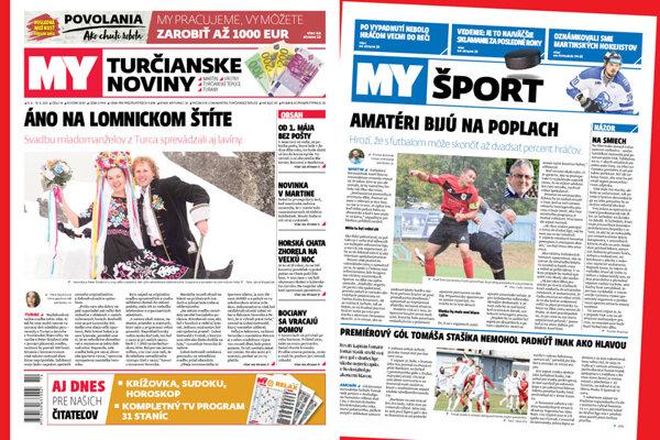 MY Turčianske noviny - 14. tohtoročné vydanie.