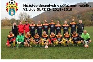 OŠK Brehy ešte v sezóne 2018/19.