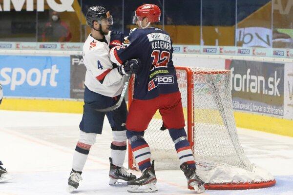 Kelemen vs. Ališauskas v prvom zápase semifinále play off.