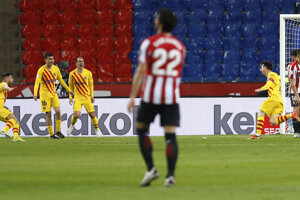 Lionel Messi po strelenom góle.