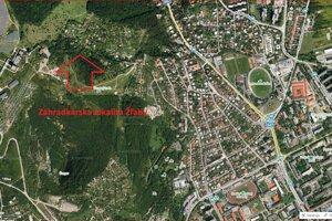 Náhľad na lokalitu, v ktorej sa Csányi roky zdržiaval.