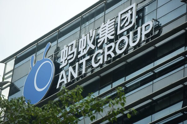 Ant Group je fintech divíziou gigantu Alibaba.