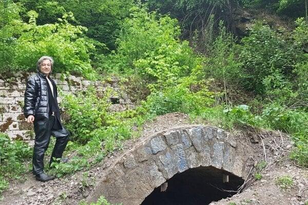 Starý ťahanovský tunel.