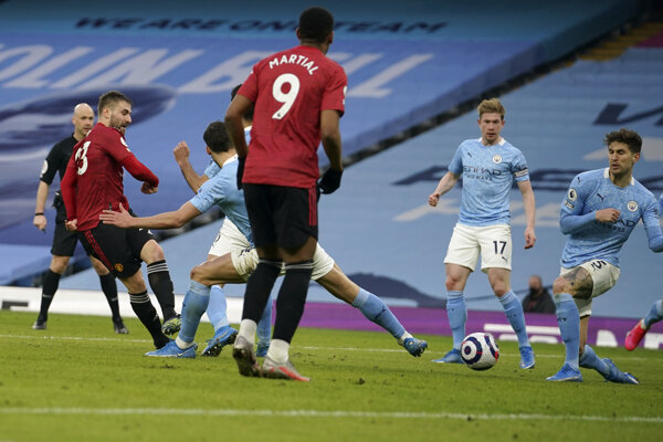 Manchester City - Manchester United.