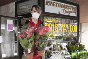 Svoje služby už ponúkajú zákazníkom aj kvetinárstva.