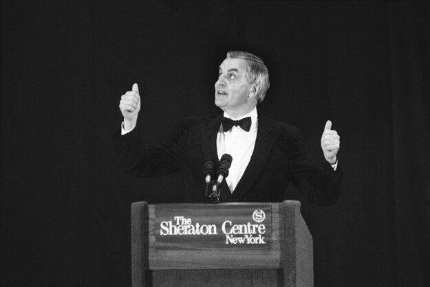 Walter Mondale ako prezidentský kandidát v roku 1984.