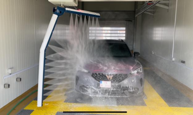 Automatická umývacia linka v Cleanex centre