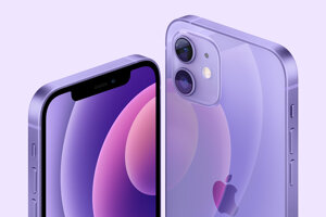 Nový obal na iPhone 12 a 12 mini vo fialovej.