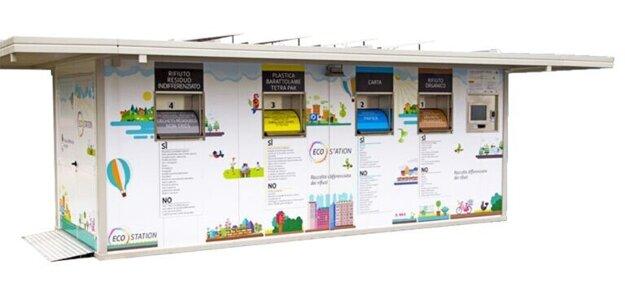 Na zbernom ostrovčeku Eco station môžu občania odovzdať odpad aj mimo zberných dní