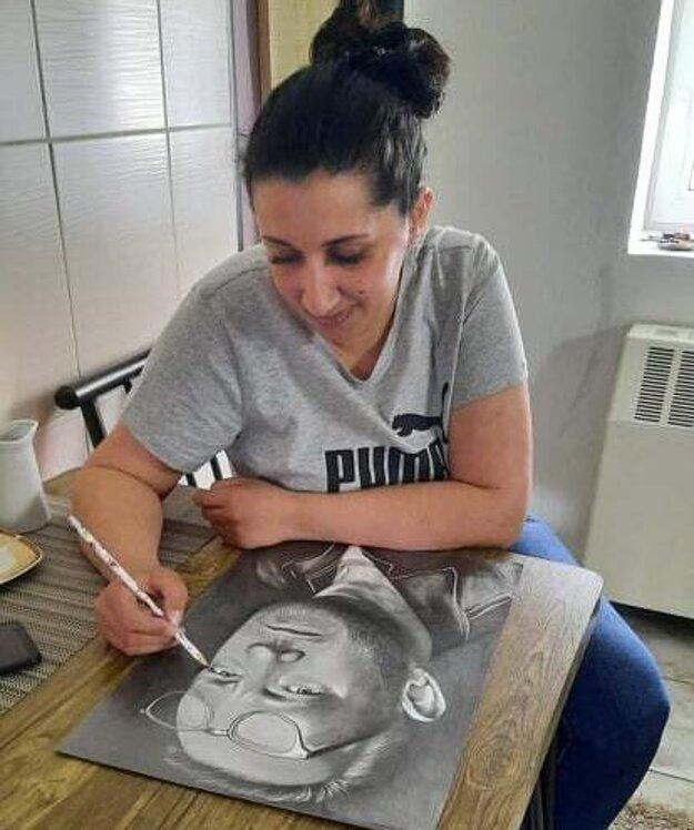 Pre Šarlotu Bottovú je kreslenie najlepšou formou relaxu.