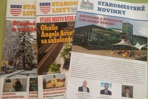 Podľa posledného prieskumu Transparency International Slovensko sú približne tri štvrtiny obecných novín skôr propagandou vedenia samosprávy.