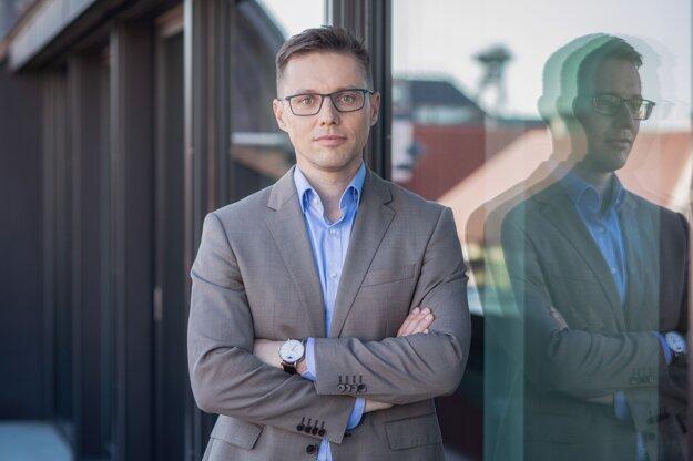 Martin Šmigura, investičný riaditeľ Wood & Company.