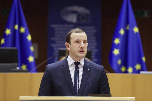 Eurokomisár pre životné prostredie, oceány a rybárstvo Virginijus Sinkevičius.