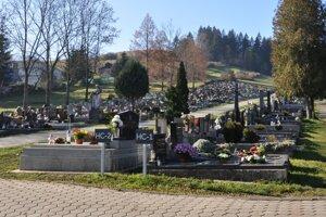 Hlavný cintorín v Ružomberku.