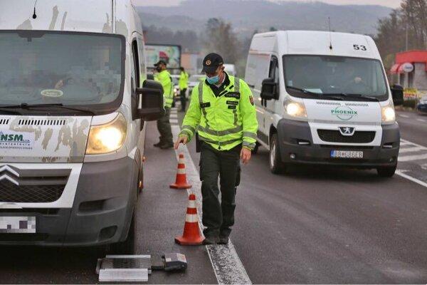 Policajti sa zamerali na všetky druhy dopravy.