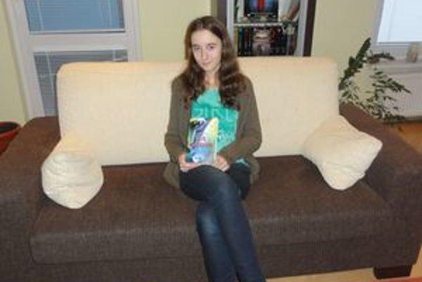 Vanessa Jóriová, najmladšia autorka vo fantasy žánri u nás.