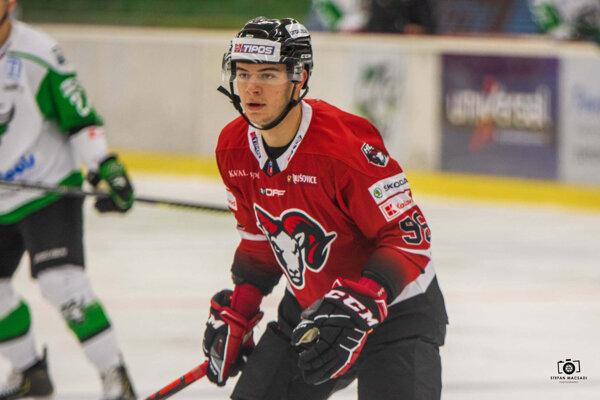 Marek Sloboda v drese HC ´05 Banská Bystrica.