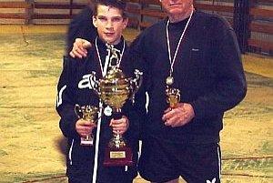 íťaz Tibor Špánik (vľavo) a Drahoš Rumanovský st.