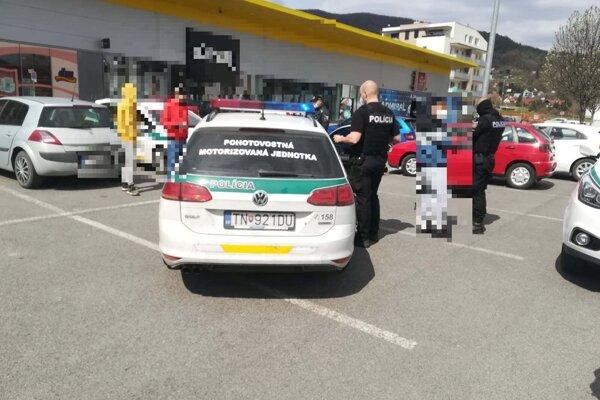 Polícia mladíka zadržala