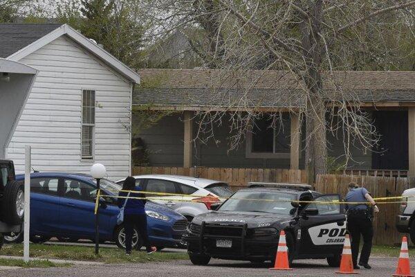 Miesto tragédie v Colorado Springs.