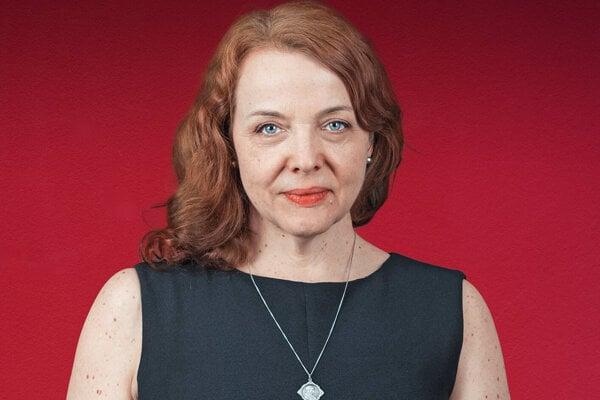 Šéfredaktorka denníka SME Beata Balogová