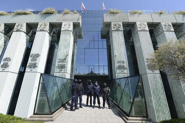 Budova Najvyššieho súdu v Poľsku.