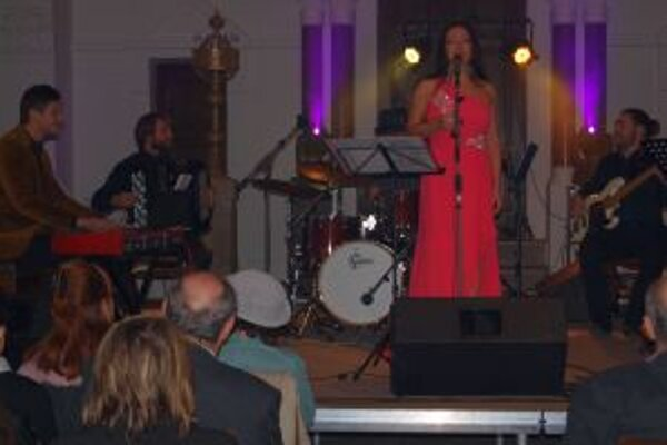 Koncert Katky Hasprovej a I feel jazz v synagóge bol prvým oficiálnym premiérovým v Nitre.