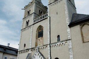Katedrála svätého Martina v Spišskej kapitule.