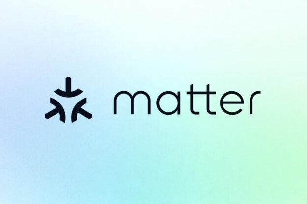 Logo Matter pre zariadenia s jednotnou certifikáciou pre inteligentnú domácnosť.