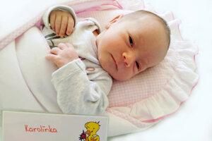 Karolína Adámiková z Oslian sa narodila 7. 5. 2021 v Bojniciach