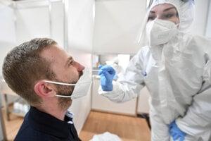 Covid antigénový test (Ilustračné foto)