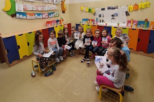 V rámci vzdelávacieho programu sa deti v predškolskom veku na Mazorníkove učili o meste, v ktorom žijú.