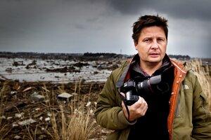 Český fotograf David Neff vo Fukušime.