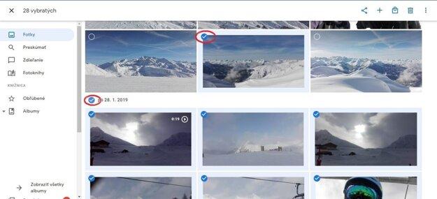 Krok 1. Ako stiahnuť fotky z Google Fotky do počítača.