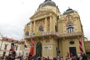 Národné divadlo v Pécsi.
