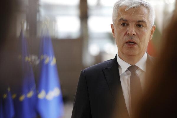 Minister zahraničných vecí a európskych záležitostí SR Ivan Korčok (nom. SaS).