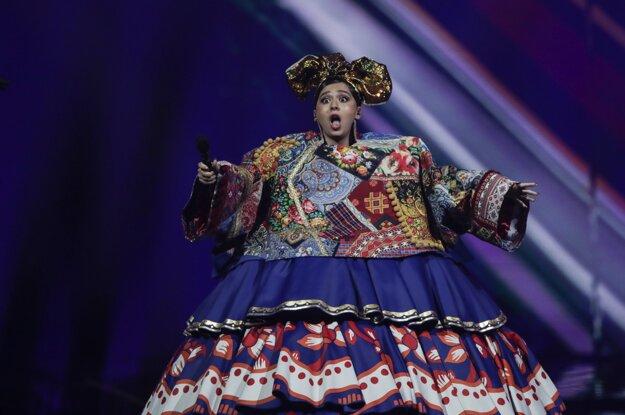Tadžická speváčka Maniža, ktorá reprezentuje Rusko, vystupuje v prvom semifinále 65. ročníka pesničkovej súťaže Eurovízia.