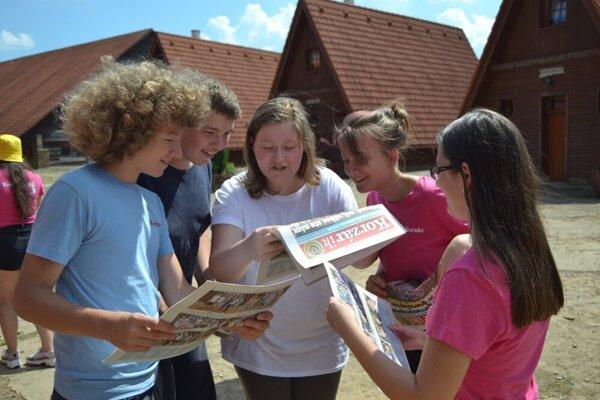 Deti si opäť samy napíšu aj pokrstia vlastné noviny Korzárik.