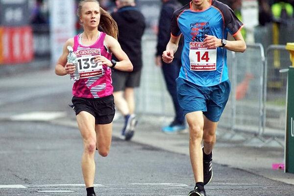 Lucia Vlčáková bežala na maratóne v Miláne.