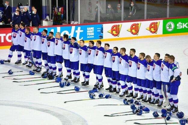 Slovenskí hokejisti.